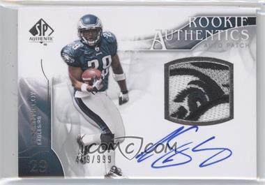 2009 SP Authentic - [Base] #390 - Rookie Authentics Auto Patch - LeSean McCoy /999