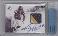 Rookie Authentics Auto Patch - Percy Harvin /999 [BGS AUTHENTIC]