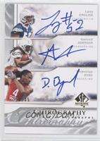 Demetrius Byrd, Larry English, Gartrell Johnson /35