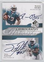 Ronnie Brown, Joey Porter /75