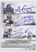 Larry English, James Laurinaitis, Aaron Curry /35