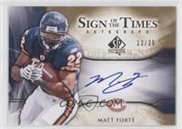 Matt Forte' /25