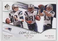 Tom Brady, Randy Moss, Wes Welker
