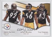 James Harrison, LaMarr Woodley, Troy Polamalu