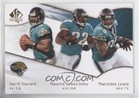 David Garrard, Maurice Jones-Drew, Mercedes Lewis