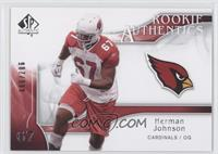 Rookie Authentics - Herman Johnson /999