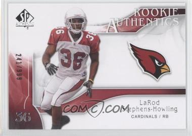 2009 SP Authentic #203 - Rookie Authentics - LaRod Stephens-Howling /999