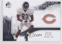 Rookie Authentics - Derek Kinder /999