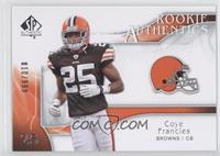 Rookie Authentics - Coye Francis /999