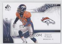 Rookie Authentics - Darcel McBath /999