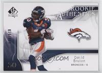 Rookie Authentics - David Bruton /999