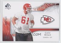 Rookie Authentics - Colin Brown /999