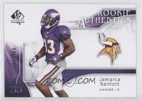Rookie Authentics - Jamarca Sanford /999