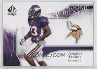 Rookie Authentics - Jamarca Sanford /999