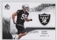 Rookie Authentics - Slade Norris /999