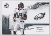 Rookie Authentics - Brandon Gibson /999