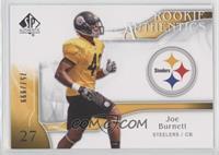 Rookie Authentics - Joe Burnett /999