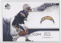 Rookie Authentics - Kevin Ellison /999