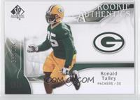 Rookie Authentics - Ronald Talley /999