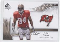 Rookie Authentics - Kyle Moore /999