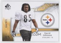 Rookie Authentics - David Johnson /999