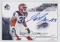 Rookie Authentics Signatures - Jairus Byrd /999