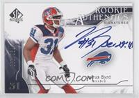 Rookie Authentics Signatures - Jairus Byrd /999