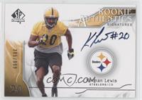 Rookie Authentics Signatures - Keenan Lewis /999