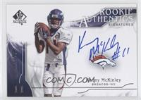 Rookie Authentics Signatures - Kenny McKinley /999