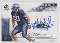 Rookie Authentics Signatures - Max Unger /999