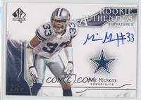 Rookie Authentics Signatures - Mike Mickens /999