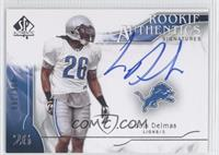 Rookie Authentics Signatures - Louis Delmas /799