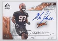Rookie Authentics Signatures - Michael Johnson /799