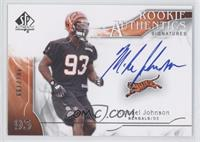 Rookie Authentics Signatures - Michael Johnson /799