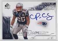Rookie Authentics Signatures - Patrick Chung /799