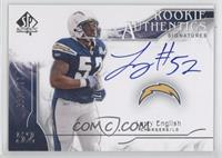 Rookie Authentics Signatures - Larry English /299