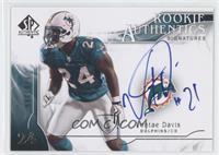 Rookie Authentics Signatures - Vontae Davis /299