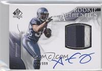 Rookie Authentics Auto Patch - Aaron Curry /999