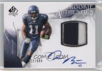 Rookie Authentics Auto Patch - Deon Butler /999