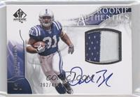 Rookie Authentics Auto Patch - Donald Brown /499