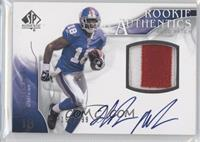 Rookie Authentics Auto Patch - Hakeem Nicks /999