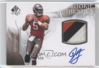 Rookie Authentics Auto Patch - Josh Freeman /999