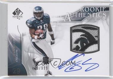 2009 SP Authentic #390 - Rookie Authentics Auto Patch - LeSean McCoy /999