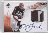 Rookie Authentics Auto Patch - Mohamed Massaquoi /999