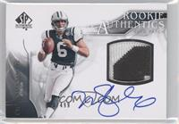 Rookie Authentics Auto Patch - Mark Sanchez /499