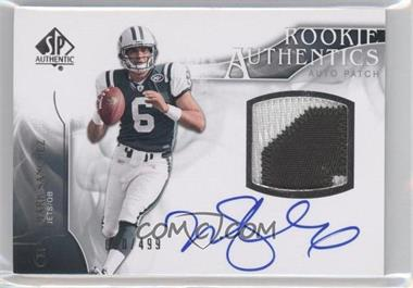 2009 SP Authentic #393 - Rookie Authentics Auto Patch - Mark Sanchez /499