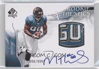 Rookie Authentics Auto Patch - Mike Thomas /999