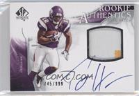 Rookie Authentics Auto Patch - Percy Harvin /999