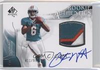 Rookie Authentics Auto Patch - Pat White /999
