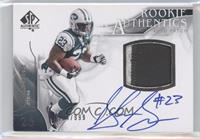 Rookie Authentics Auto Patch - Shonn Greene /999
